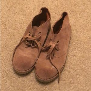 Lucky Brand Tan Suede/Leather Shoe